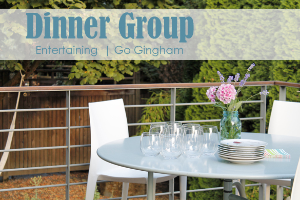 Easy Entertaining with Go Gingham