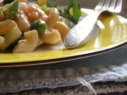 Frugal healthy recipe: Shrimp and veggie pasta salad