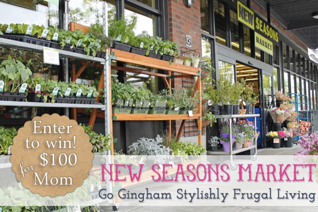 Go Gingham New Seasons Market Giveaway
