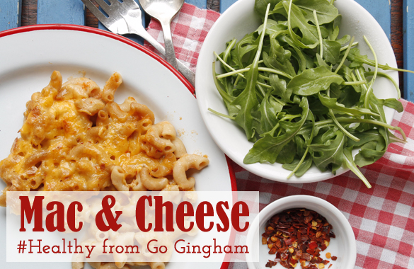 Healthier Mac & Cheese from Go Gingham