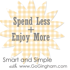 Spend less and enjoy more from Go Gingham