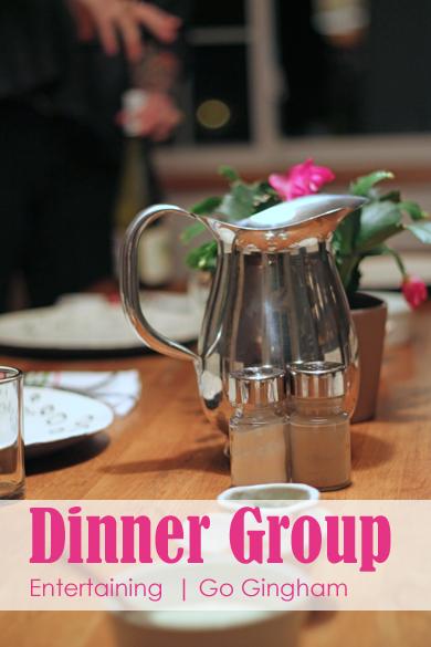 Dinner group Go Gingham