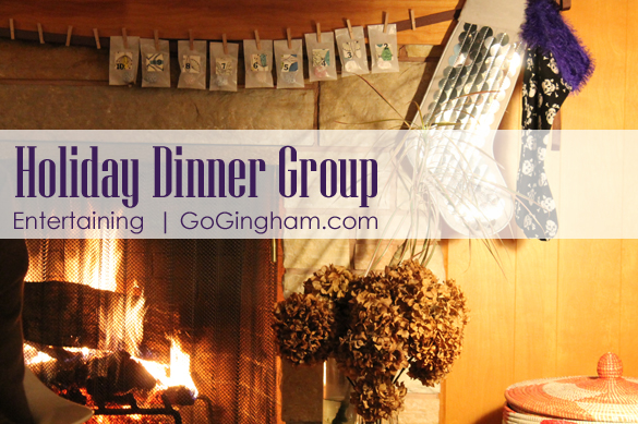 Holiday dinner group from Go Gingham