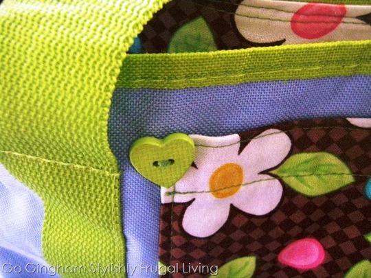Go Gingham: Plastic grocery bag alternatives