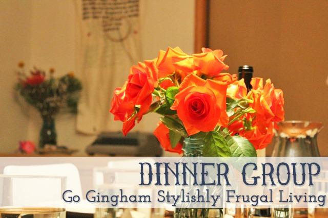 Go Gingham: Dinner group