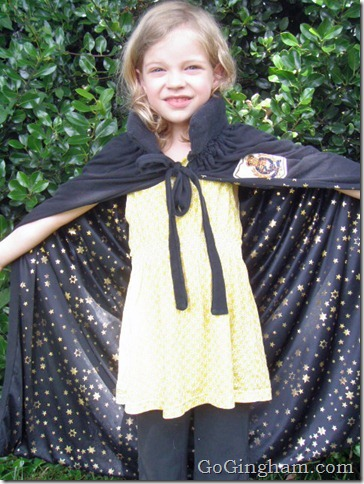 How To Make a Harry Potter Cape