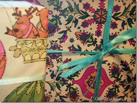 Estate sale finds: vintage wrapping paper