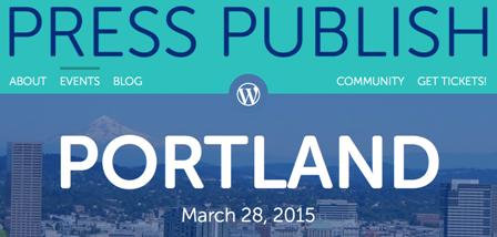 Press Publish Portland events