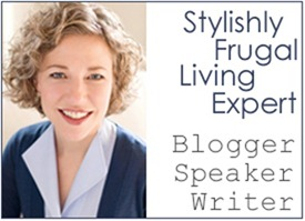 Sara Tetreault stylishly frugal living expert