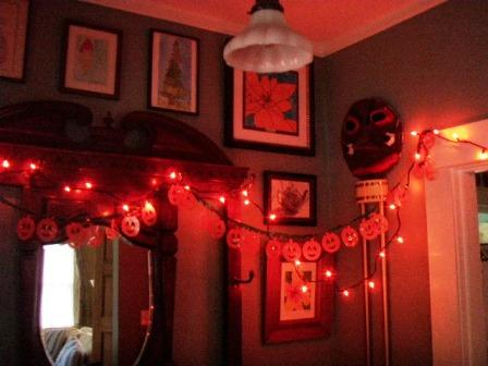 Halloween decorating Go Gingham