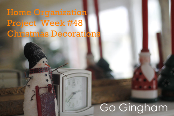 Christmas Decorations Go Gingham
