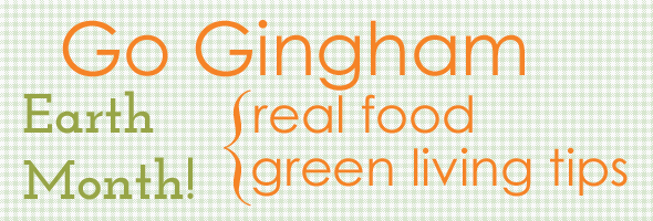 Green Living Go Gingham