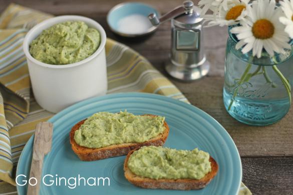Artichoke cauliflower spinach dip Go Gingham