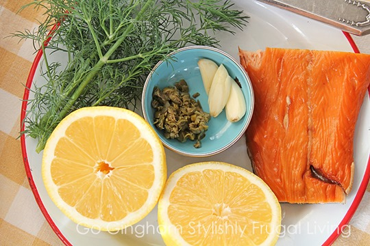 Salmon Spread Ingredients