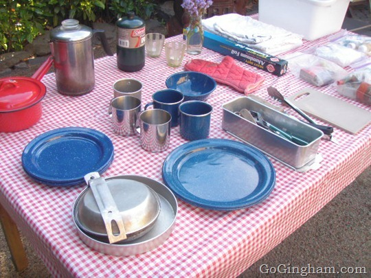 Camp Cooking Supplies