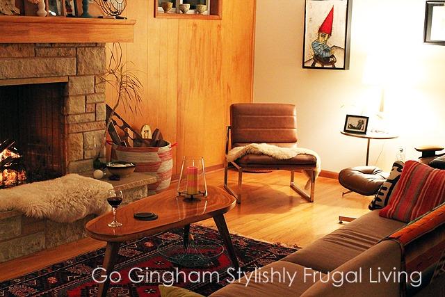 Go Gingham Mid Century House