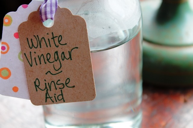 Rinse Aid Alternative from Go Gingham