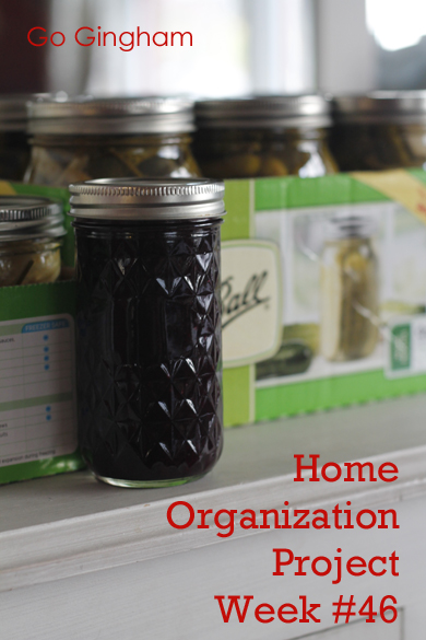 Preserved Food Home Organization Project Go Gingham