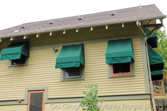 How to make awnings www.GoGingham.com