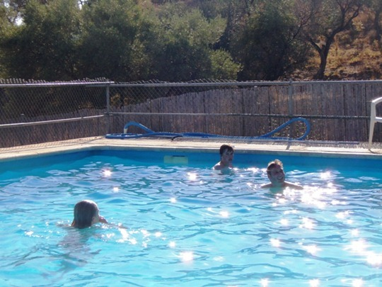 Swimming pool Nerja, Spain