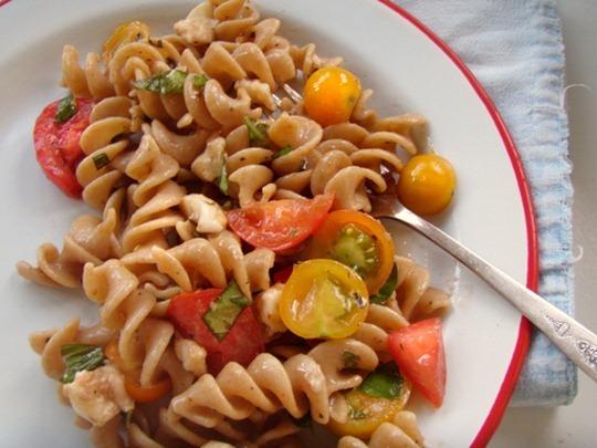 Summer dinner pasta salad
