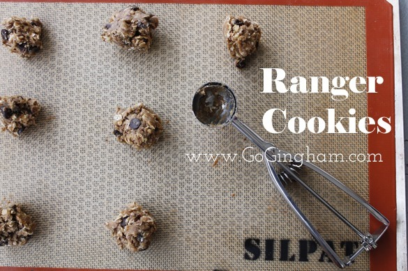 Ranger Cookies Silpat from Go Gingham