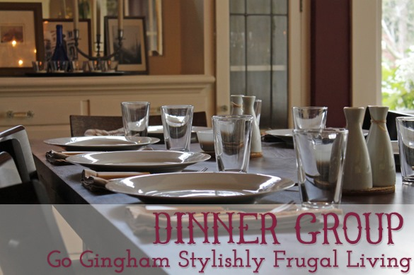 Go Gingham Dinner Group