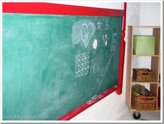 DIY Project Chalkboard
