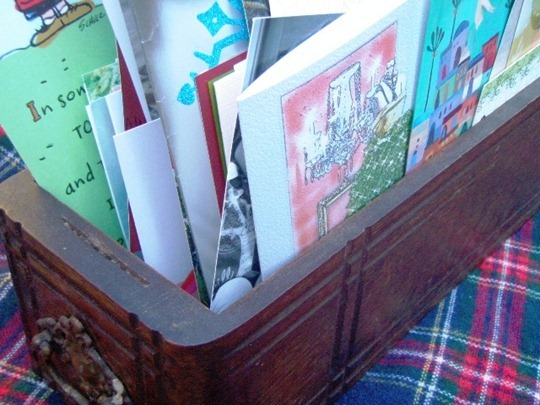 Displaying Holiday Cards