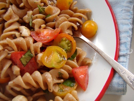 Pasta salad that's easy and fresh