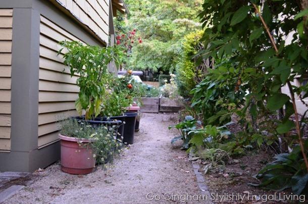 5 steps Found Garden Space