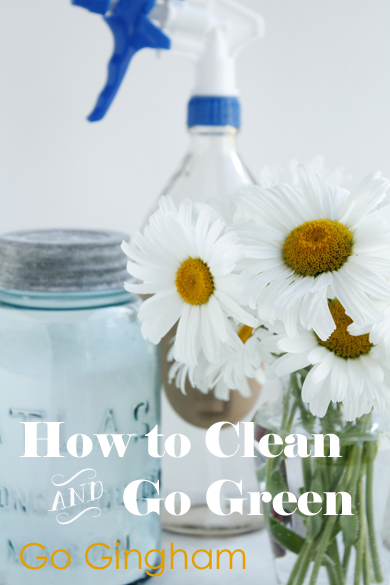 Green Living Tip: Make Cleaning Supplies