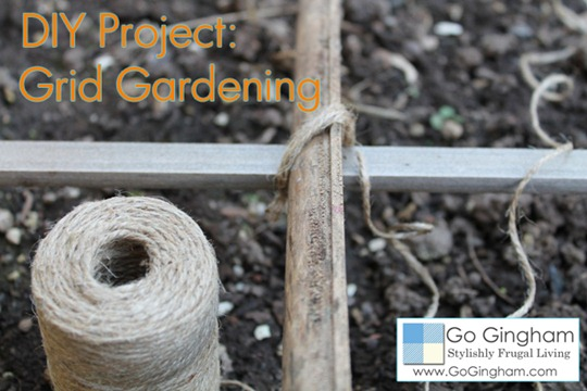 DIY Project Grid Gardening