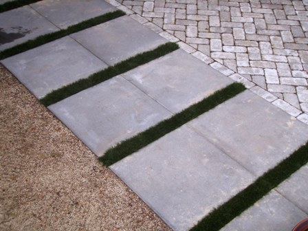 DIY Fake Grass