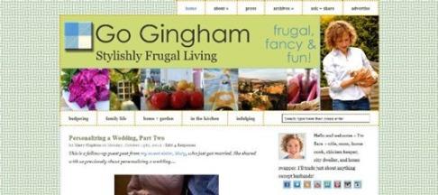Go Gingham before
